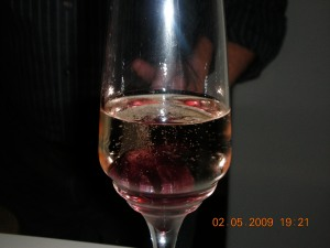 Champagne With Hibiscus (Self had two of these)