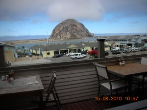 View from Dorn's, Morro Bay on the Central Coast (One day, maybe later in the year, self swears she'll get back there)