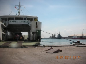RORO (Roll On, Roll Off) Pier in the Reclamation Area, Bacolod, Negros Occidental