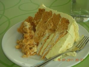 Butter Sans Rival, Calea Café, Lacson Street