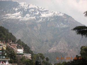 Another view from the Buddhist Temple in Dharamsala