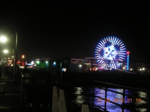 Santa Monica Wharf, after the Cirque du Soleil Show