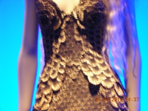 Gown from the 2012 Jean-Paul Gaultier Exhibit at the de Young