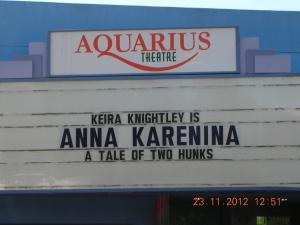 Aquarius Theater, Emerson Street, downtown Palo Alto