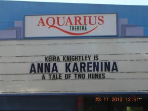 Aquarius Theater, Emerson Street, downtown Palo Alto