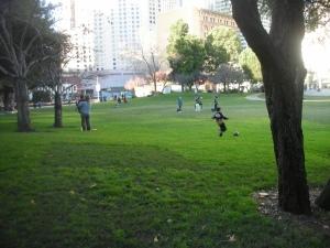 Yerba Buena Gardens This Afternoon