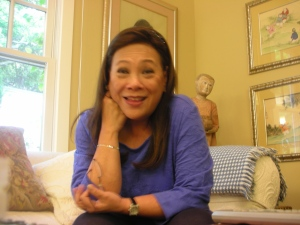 Mona Lisa Yuchengco, who directed MARILOU DIAZ-ABAYA: FILMMAKER ON A VOYAGE