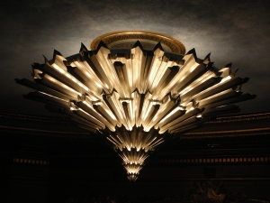 The Chandelier:  War Memorial Opera House