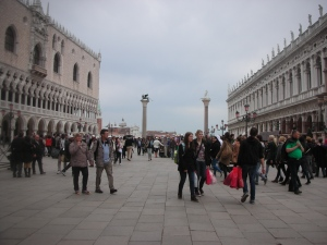 San Marco Square on a Cloudy Afternoon