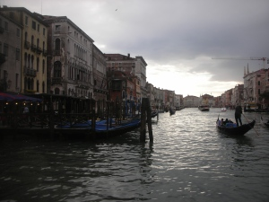 Evening on the Grand Canal