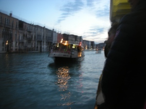 Taking the Vaporetto Home to San Toma