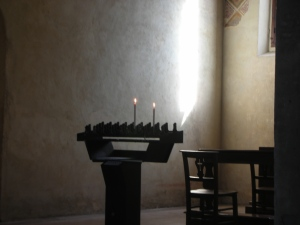 Side Chapel of a Church in Padua