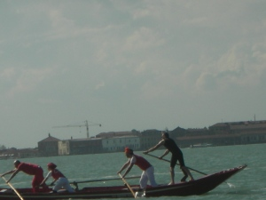 On the Venetian Lagoon:  April 2013