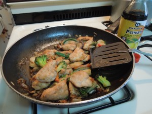 Stir-fried Chicken Tenderloins!