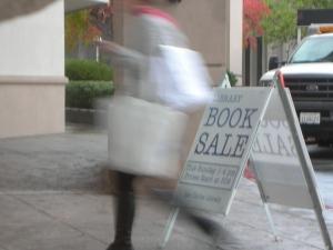 Book Sale at Public Library, San Carlos, CA