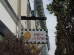 Store Sign, Main Street, Only in Half Moon Bay