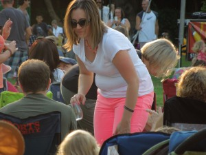Flourescent Pants!  In Stafford Park!  3rd of July 2013