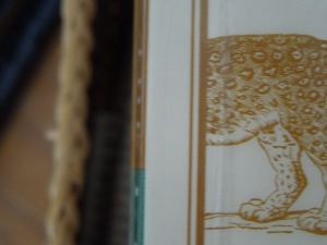 The Leopard:  Cover Detail