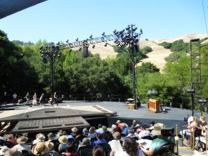"""Cal Shakes' """"Romeo and Juliet,"""" Sunday July 14, 2013 (Self is returning this Sunday, to see """"Lady Windermere's Fan"""")"""