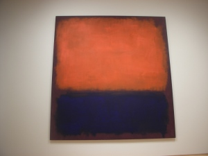 A Mark Rothko at the San Francisco Museum of Modern Art