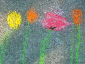 Bystander Chalk Drawing 4