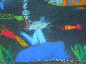 Bystander Chalk Drawing 3