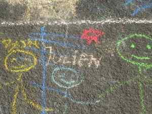 Bystander Chalk Art 2