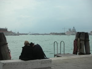 Just in front of the Naval History Museum, Venice