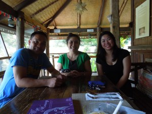 Teachers at PAC:  Romel, Anet, and Jaimee
