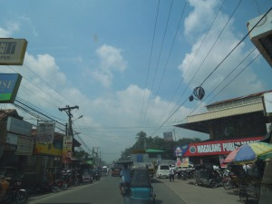 Magalang, Pampanga, September 2013: It's more like a city than a town.