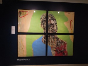 """More from the Ateneo Art Gallery:  """"With Love and Squalor,"""" 2005 by Maya Muñoz"""