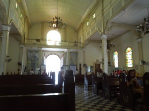 The church in Talisay is very beautiful:  it was built by the Recollects, who arrived in the Islands in 1606.