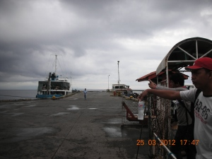 Catching the inter-island ferry from Bacolod to Siquijor, March 2012