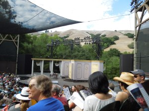 Cal Shakes in Orinda.  The play was Oscar Wilde's