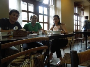 El Ideal bakery, Silay:  Cousins Manong Freddie and Manang Marilou and their son Jeric