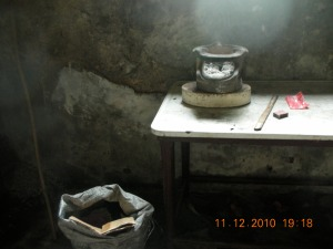 The kitchen of the Balay ni Tana Dicang in Talisay (It's owned by the Lizares clan)