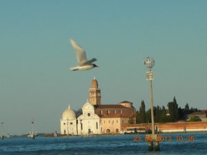 Venice, April 2013:  Taking the Vaporetto to Murano