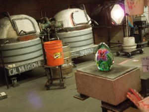 A Glass-Blowing Studio (Same One with the Deer Window Display)