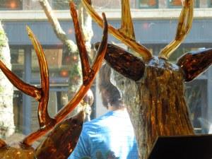 Glass Deer, Gallery on Occidental