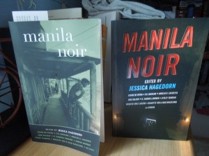 Manila Noir (Akashic Books, 2013): The covers of the U.S. and Philippine editions