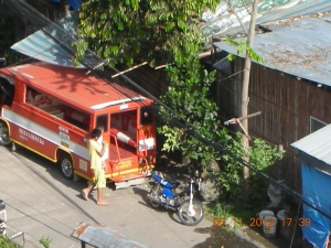 Bacolod:  The Street Below