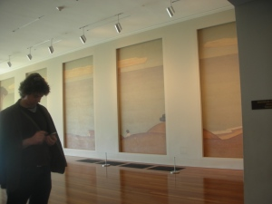 This gallery was just off the main lobby of the de Young Museum in Golden Gate Park.