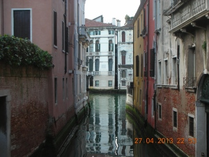 On the way to the Grand Canal