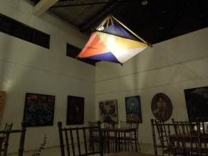 The Lamp is the Philippine Flag (Negros Museum Café, Bacolod)