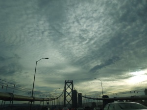 Taking the Bay Bridge Home After a Writers Group Meeting in Walnut Creek