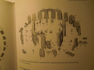 "The Layout of Stonehenge: Diagram From SOLVING STONEHENGE, by Anthony Johnson. Self has always been fascinated by the abiding mystery of these stones.  She even used the monument in a short story that got published in Wigleaf (""Stonehenge/Pacifica"")"