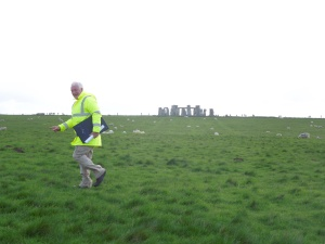 Pat Shelley, who led the tour to Stonehenge self took in April 2014