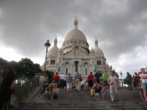 Cathedral of Sacre Coeur:  Paris, July 2012