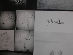 "The cover of Phoebe Literary Journal: A few years ago, they published self's flash fiction, ""All the Missing."""