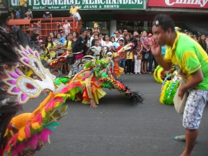 Call & Response:  2012 Masskara Festival, downtown Bacolod City
